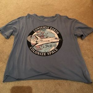 American Eagle Space T-shirt.